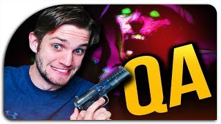 "MY FAVORITE MAPS OF ALL GAMES?! ""ZOMBIES Q&A"" ON EARLY DLC 1 FOOTAGE! #2 (Resistance DLC)"