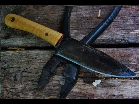 PIONEER Neck Knife w/SIMPLE tools!