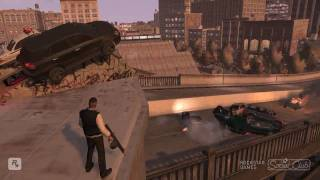 GTA IV TBoGT - Massive Explosion! 6