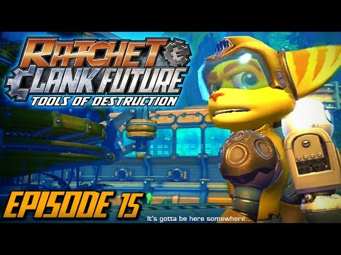 Ratchet and Clank: Future Tools of Destruction - Episode 15 (Walkthrough / Playthrough / Let's Play)