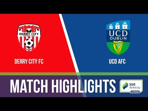 GW25: Derry City 0-0 UCD