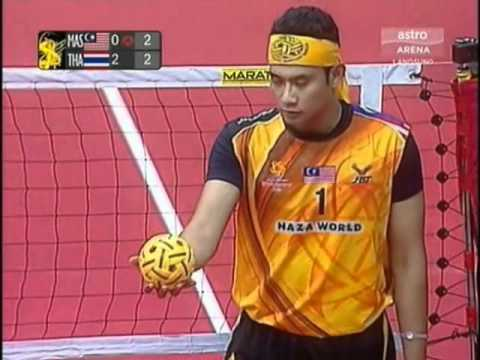 Istaf  Sepaktakraw World Cup 2011   Malaysia Vs Thailand Final video
