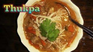 Thukpa || Tibetan recipe || Today's breakfast recipe