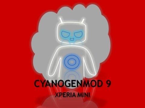 COMO INSTALAR CYANOGENMOD 9.1  EN XPERIA MINI ST15