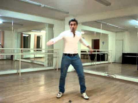 7 базовых элементов клубного танца. Базовый кач №4
