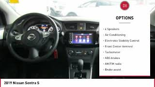 2019 Nissan Sentra 2019 Nissan Sentra S FOR SALE in Seaside, CA N6852