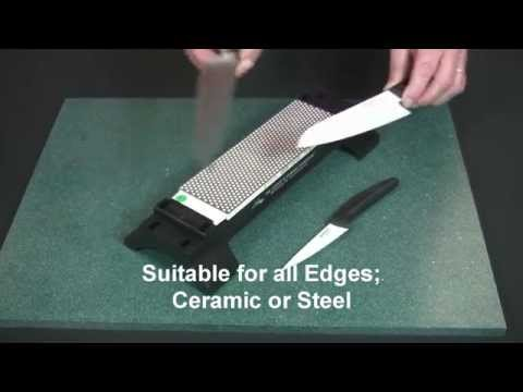 Video of DuoSharp® Bench Stone Extra-Fine / Fine Hardcoat™ Surface