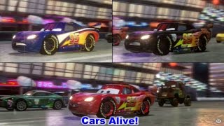 Cars 2: The video Game - 3 Lightning McQueen`s race on Ginza Sprint