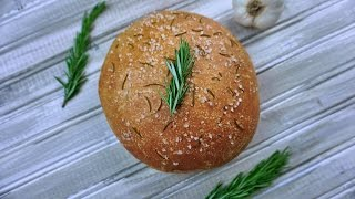 Roasted Garlic Rosemary Bread - What's For Din'? - Courtney Budzyn - Recipe 99