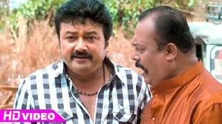 Manthrikan - Manthrikan - Jayaram with friends in village