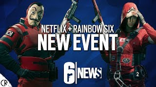 Netflix Event in R6 - Money Heist - 6News - Tom Clancy's Rainbow Six Siege