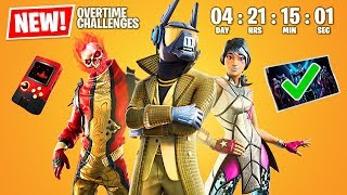SEASON 11 EVENT COUNTDOWN! New OVERTIME CHALLENGES and SKINS!! (Fortnite Battle Royale)