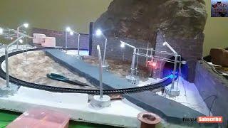 How to make Hill Train Model / Easy Train / Best Train Set Kid /  Realistic Model Layout HO SCALE
