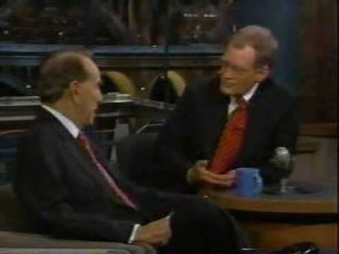 Senator Dole on David Letterman
