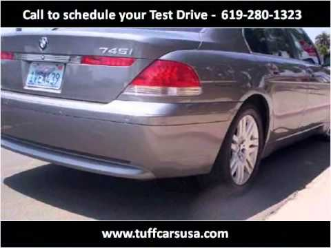 2002 BMW 7-Series Used Cars San Diego CA