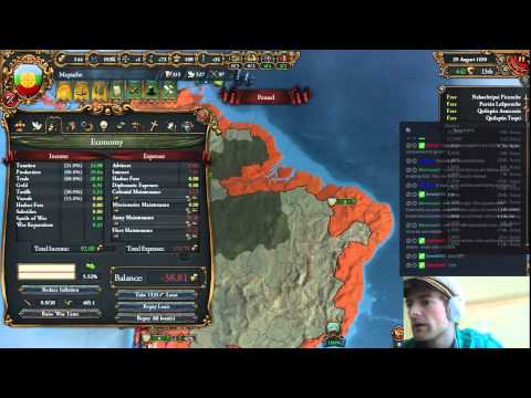 Let's Play Europa Universalis 4: Mapuche! [24]: The South is Ours!