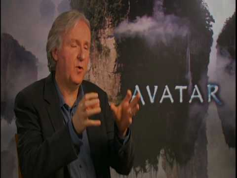 AVATAR Interviews with James Cameron, Sam Worthington and Zoe Saldana