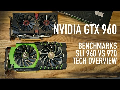 Nvidia GTX 960 SLI Benchmarks VS GTX 970 & Technology Overview   MSI & ASUS Cards
