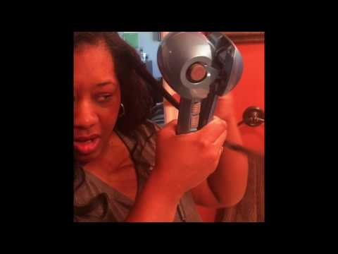 CHI Spin & Curl vs Babyliss miracurl on natural hair