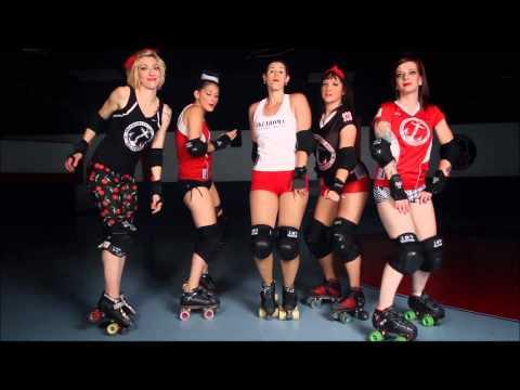 Okvd Roller Derby Covers all About That Bass video