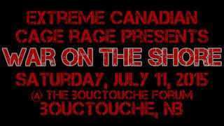 Canadian Cage Rage - War on the Shore Promo