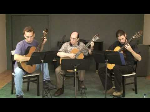 Summer Practice with Classical Guitar Trio Part I
