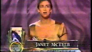 Janet McTeer wins 1997 Tony Award for Best Actress in a Play