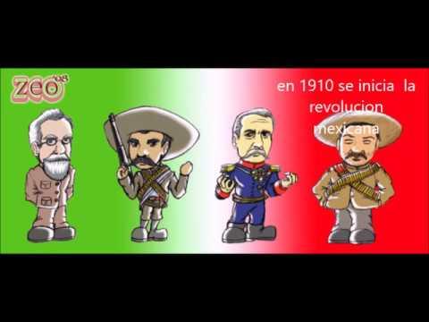 cancion infantil dia de la revolucion mexicana