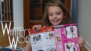 Whitney Signs Her First Autograph | Inside Gymnastics