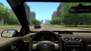 City Car Driving gameplay#9 Ford Focus ST with Logitech G27- Redline + download[HD]