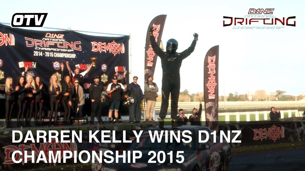 Darren Kelly Wins D1NZ Drifting Championship 2015