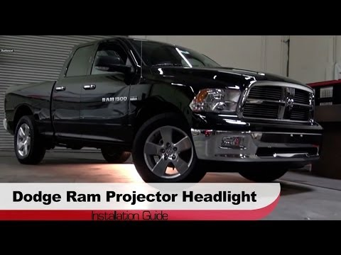 Spyder Auto Installation: 2009-2013 Dodge / Ram 1500 Projector Headlights