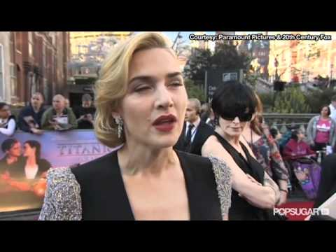 Kate Winslet On Her Titanic Nude Scenes In 3d: i'll Be In The Bar! video