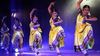 Sridevi Nrithyalaya - Bharathanatyam Dance - LEELA TARANGA MARGAM - VARNAM CLIP 1