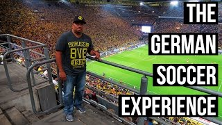 THE GERMAN SOCCER EXPERIENCE 🇩🇪 ⚽  | Throwback Vlog
