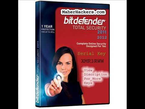 Bitdefender Total Security 2011 And 2012 Serial Keys - Updated !!