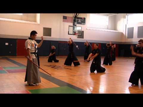 2012 Kumdo Sword Seminar Martial Arts Triad, North Carolina