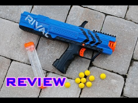 [REVIEW] Nerf Rival Apollo Unboxing. Review. & Firing Test