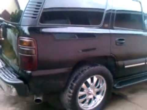 Tahoe lt auto ride on 33 nitto grappler tires and 20 inch ...