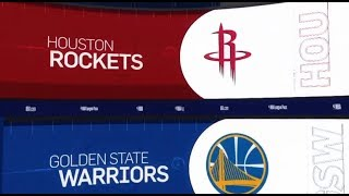 Golden State Warriors vs Houston Rockets Game Recap | 1/3/19 | NBA