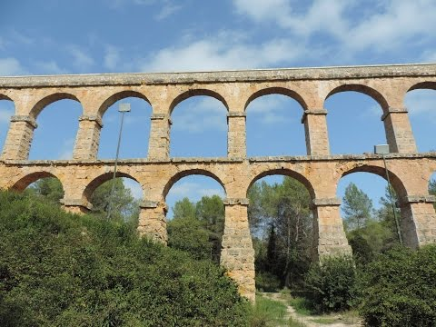 Roman Bridge - Tarragona, Catalonia, Spain