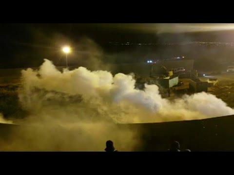 USA: Erneut Tränengas gegen Flüchtlinge