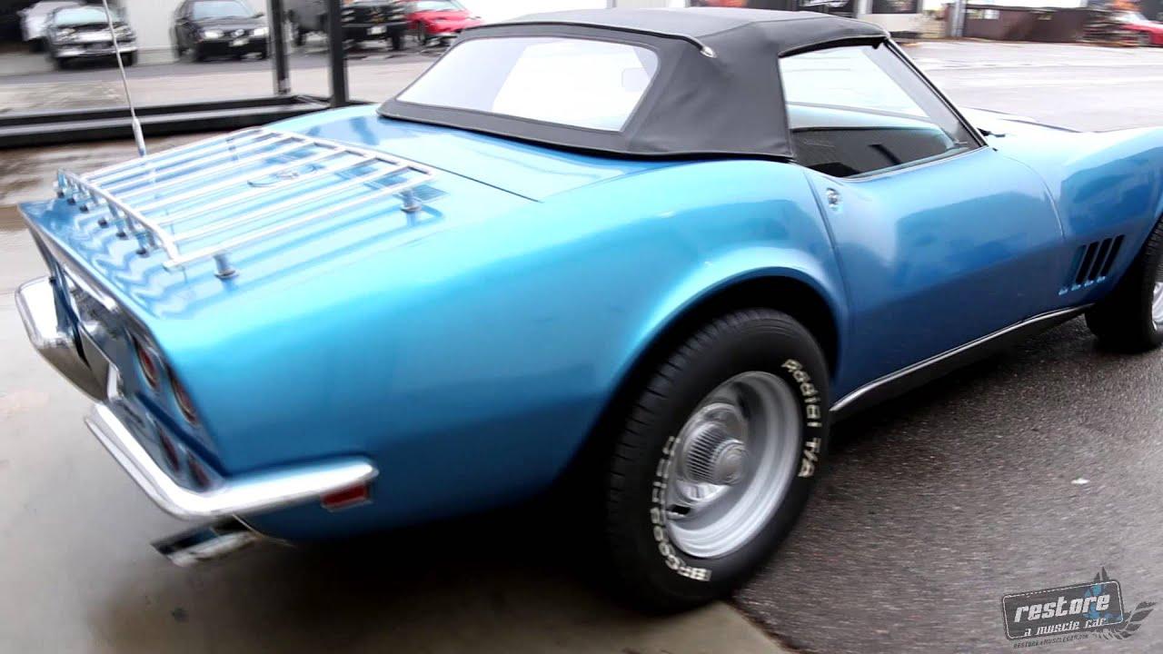 1968 Stingray Corvette Convertible W Hard Top For Sale