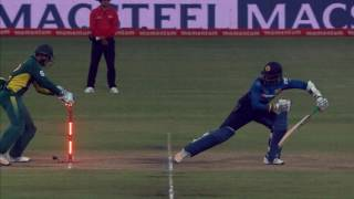 South Africa vs Sri Lanka - 2nd ODI  - SL Innings Highlights