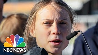 Greta Thunberg Blasts World Leaders' Inaction On Climate Change | NBC News