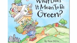 Green Kids Activities Book: Recycling: What Does it Mean to be Green?