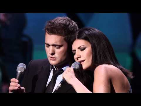 Michael Buble Feat. Laura Pausini - You Will Never Find - Caught In The Act video