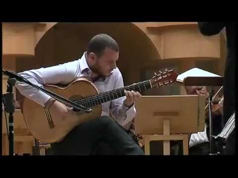 Cinema Paradiso Theme (Morricone) - Flavio Sala, guitar and orchestra