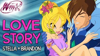 Winx Club – Stella and Brandon's love story [from Season 1 to Season 7]