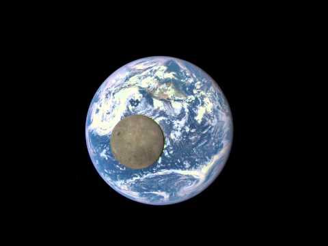 Аппарат NASA показал «тёмную сторону» Луны [Видео]